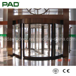Luxury Automatic Revolving Door (2-Wing) pictures & photos