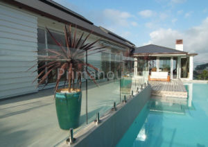 Frameless Tempered Clear Glass Railing/Pool Fence pictures & photos