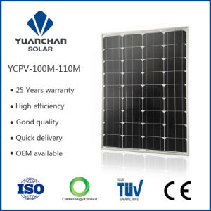 TUV ISO CE 100W 120 W Mono Salable and Durable China Supplier Solar Panels pictures & photos