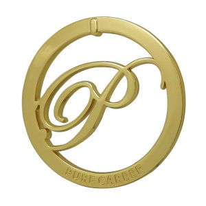 Gold Round Metal Cutout Logo Tag pictures & photos