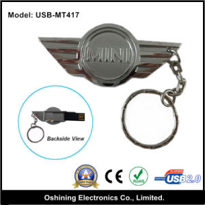 Fly Wing Shape Metal USB Memory Stick (USB-MT417) pictures & photos