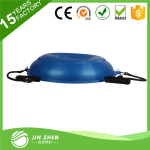 Functional Training Half Yoga Ball Bosu Balnce Trainer Yoga Ball with Rope pictures & photos