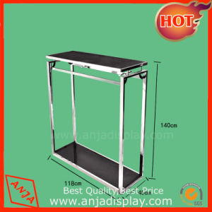 Portable Clothes Rail Display Rack pictures & photos