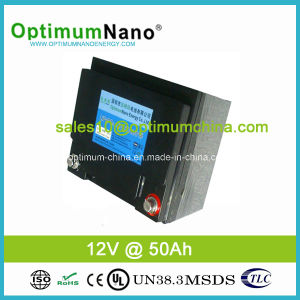 2015 Hot! 12V 50ah Lithium Battery for Solar Street Light pictures & photos
