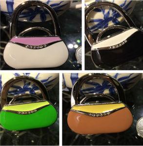 Promotion Gift Enamel Hand Bag Shaped Bag Hanger pictures & photos