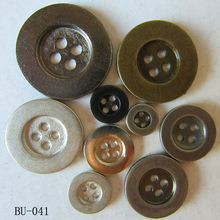 Uniform Suit Metal Embossed Buttons Decorative Fasteners pictures & photos