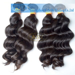 Loose Wave Grade 3A Indian Human Hair pictures & photos