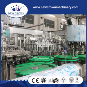 Automatic Capping Safe Device Installed Juice Filling Machine for Glass Bottle with Aluminium Cap pictures & photos