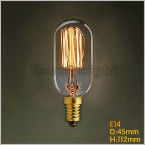 Beautiful Style Lighting Bulb Vintage Decoration Lighting Intel Edison T45 Squirrel Cage pictures & photos