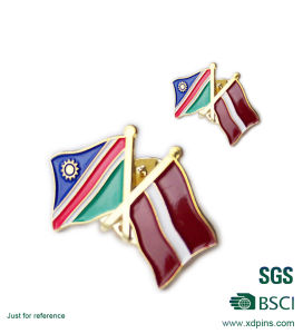 Wholesale Metal National Flag Lapel Pin (xd-0904) pictures & photos