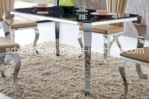 2016 High Quality Modern Marble Dining Table Design Home Furniture pictures & photos