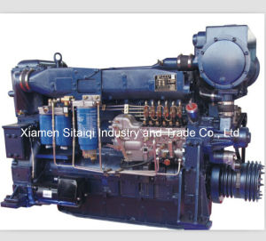 China Weichai Wd10 Series Marine Diesel Engine pictures & photos