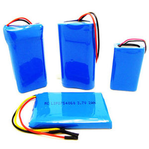 14.4V 10Ah Lithium Polymer Battery Packs pictures & photos