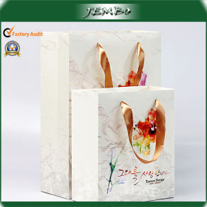 OEM Print Reusable Luxury Paper Cosmetic Packing Bag pictures & photos