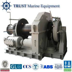 China Manufacturer Supply Double Drums Ship Anchor Windlass pictures & photos