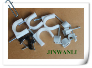 Hanroot Plastic Wall Nail Nylon Cable Clip pictures & photos