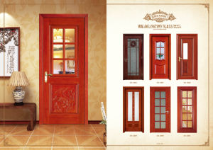 Veneer Interior Flush Wooden Doors with Invisible Hinges