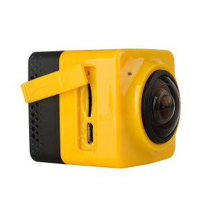 Cube360 Mini Panoramic Camera 360 Vr Shooting Build-in WiFi Mini Sports Action Camera 1280*1042 28fps pictures & photos