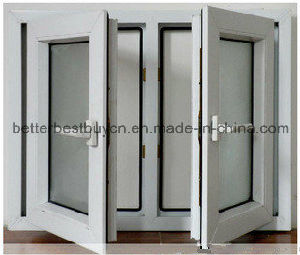 Newest Design High Standard Swing UPVC Window pictures & photos