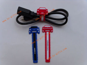 Rubber PVC Cable Holder, Car Shape Cable Holder