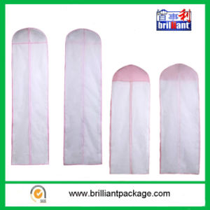 Cheap Garments Bags Wedding Dress Covers pictures & photos