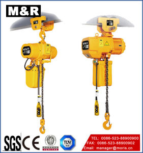 125 Kg Manual Trolley Type Electric Chain Hoist pictures & photos