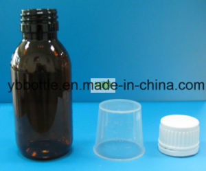 Amber Bottles, Glass Bottles with Screw Cap pictures & photos