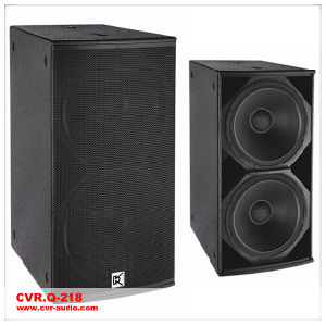 Q-218 Professional Subwoofer Box Club Sound System pictures & photos