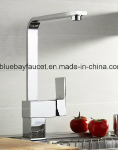 New Design Brass Square Kitchen Sink Mixer Tap pictures & photos