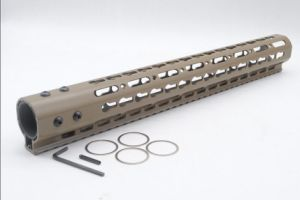 6 Type Length Tan/ Fde Color Nsr Keymod Rail Mount Handguard 7-15 Inches pictures & photos