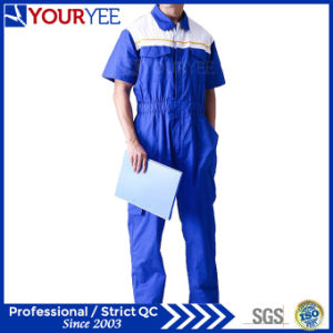 Short Sleeve Coveralls for Sale Breathable Boiler Suits (YLT117) pictures & photos