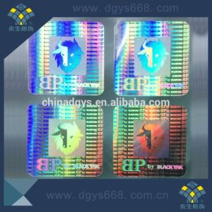 Security Anti-Fake High Quality Hologram Laser Sticker pictures & photos