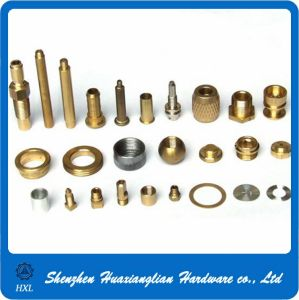 Precision Metal Brass Turning Parts by CNC Lathe machine pictures & photos