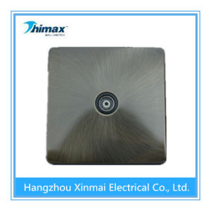 Th434 Lsolated Coaxial Socket, Single Outlet pictures & photos
