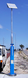 Solar Power Tower Phone, Motorway Emergency Telephone, Parking Lot Phone pictures & photos