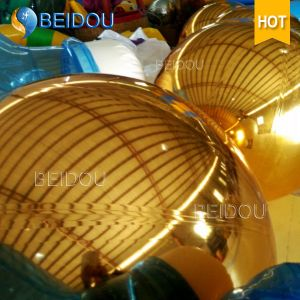 Festival Events Stage Decorative Mirror Balls Gold Mini Disco Inflatable Mirror Ball pictures & photos