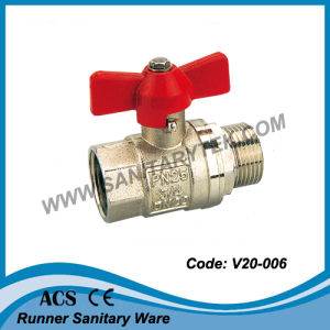 Brass Water Ball Valve (V20-006) pictures & photos