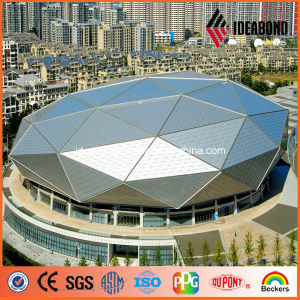 2017 ISO/SGS/RoHS Certificated 1220*2440mm PVDF Exterior Aluminum Composite Panel (AF-401) pictures & photos
