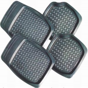 Natural Rubber with Non Slip Surface Car Mat pictures & photos