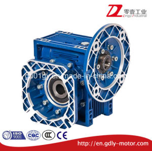 Dia Cast Aluminum Worm Gear Speed Reduce Gearbox with Big Flange pictures & photos