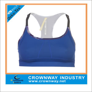 Custom Made Wholesale Sexy Yoga Clothing Racerback Sports Bra pictures & photos