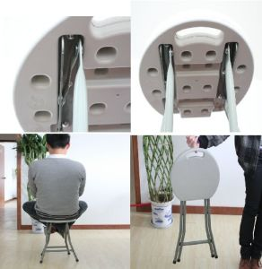 Colorful Plastic Folding Stool pictures & photos
