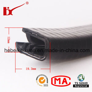 Flexible Extruded PVC Trim for Car Door and Window pictures & photos