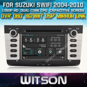 Witson Car DVD Player with GPS for Suzuki Swift (W2-D8658X) Touch Screen Steering Wheel Control WiFi 3G RDS pictures & photos
