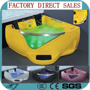 Foshan Factory Direct Sales Acrylic Colour Jaziccu Bathtub (5205D) pictures & photos