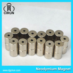 14000 Gauss N48 Cylinder Rare Earth Sintered NdFeB Magnet pictures & photos