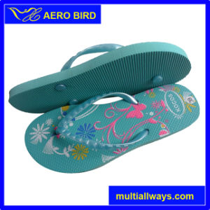 Fashion Type Girls PE Outsole Flip Flops (14E025) pictures & photos