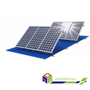 Hot Sale Roof PV Adjustable Mounting System / Solar Panel System pictures & photos
