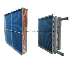 Copper Tube with Aluminum Fins Air Heat Exchanger pictures & photos