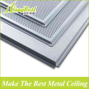 10 Years Experience Fireproof Lay-in Square Aluminum Ceiling Panel pictures & photos